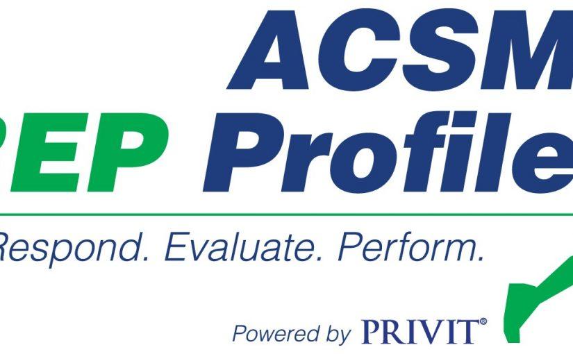 ACSM PREP Profile
